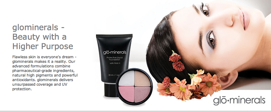 Glo-MInerals at Glamour Secrets in Chilliwack